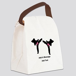 Unique Martial Arts Canvas Lunch Bag