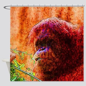 Abstract Animal Shower Curtain