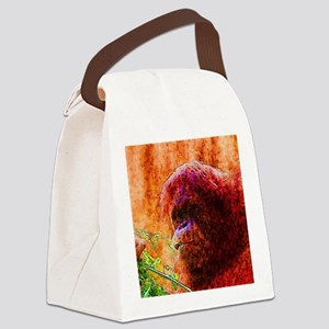 Abstract Animal Canvas Lunch Bag