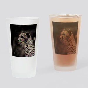 Abstract Animal Drinking Glass