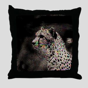 Abstract Animal Throw Pillow