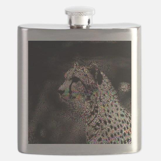 Abstract Animal Flask