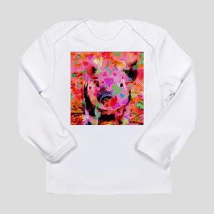 Sweet Piglet Graffiti Long Sleeve T-Shirt