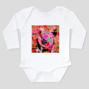 Sweet Piglet Graffiti Body Suit