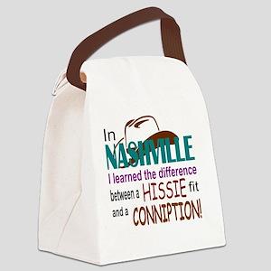 Nashville Hissie Fit-LTS Canvas Lunch Bag