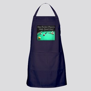 One Pocket Players Only Need One Apron (dark)