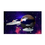 Surreal Star Trek 35x21 Wall Decal