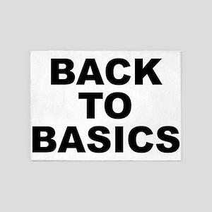 Back To Basics 5'x7'area Rug