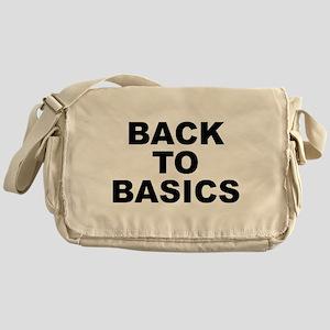Back To Basics Messenger Bag