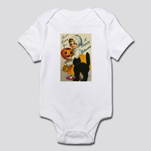 Girl and Kitty Infant Bodysuit
