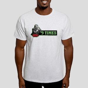 Ferris Bueller's Day Off - 9 Times Light T-Shirt