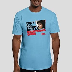 Ferris Bueller - Righteous Dude Fitted T-Shirt