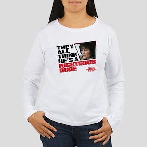 Ferris Bueller - Right Women's Long Sleeve T-Shirt