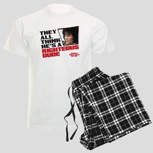 Ferris Bueller - Righteous Du Men's Light Pajamas