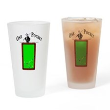 One Pocket Tuxedo Drinking Glass