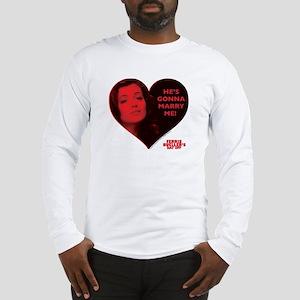 Ferris Bueller - Marry Me Long Sleeve T-Shirt