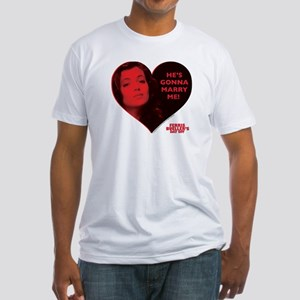 Ferris Bueller - Marry Me Fitted T-Shirt