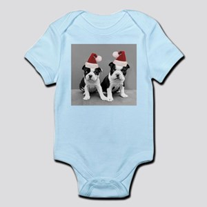 Christma Boston Terriers Body Suit