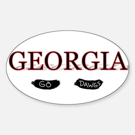 Georgia Bulldogs Decal