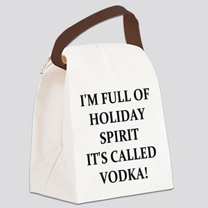 VODKA! Canvas Lunch Bag