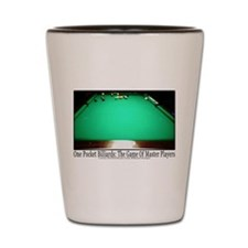 1 Pocket Billiard Masters Shot Glass