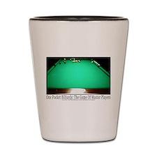 1 Pocket Billiard Masters Shot Glass