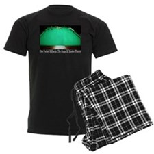 1 Pocket Billiard Masters Men's Dark Pajamas