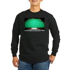 1 Pocket Billiard Masters Long Sleeve Dark T-Shirt
