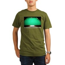 1 Pocket Billiard Mas Organic Men's T-Shirt (dark)