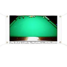 1 Pocket Billiard Masters Banner