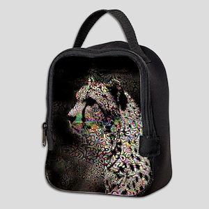 Abstract Animal Neoprene Lunch Bag