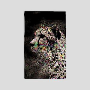 Abstract Animal Area Rug