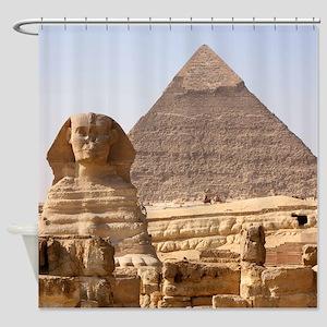 PYRAMID EGYPT Shower Curtain