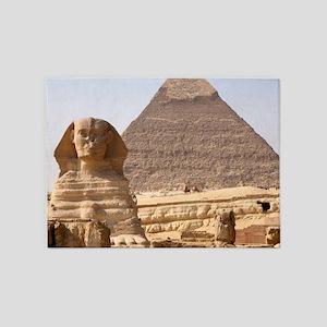 PYRAMID EGYPT 5'x7'Area Rug