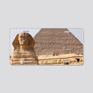PYRAMID EGYPT Aluminum License Plate