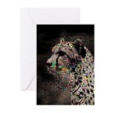 Cheetah Greeting Cards (10 Pack)