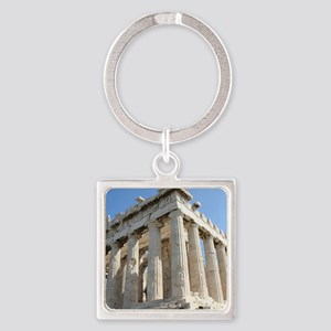 PARTHENON Square Keychain