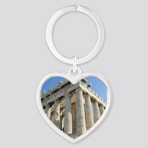 PARTHENON Heart Keychain