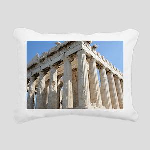PARTHENON Rectangular Canvas Pillow
