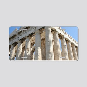 PARTHENON Aluminum License Plate