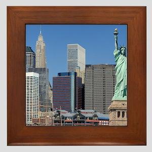 NY LIBERTY 2 Framed Tile