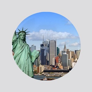 NY LIBERTY 1 Button
