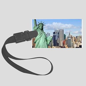 NY LIBERTY 1 Large Luggage Tag