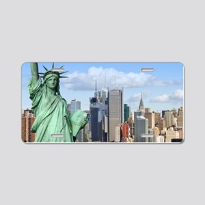 NY LIBERTY 1 Aluminum License Plate