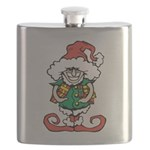 Naughty Elf Flask