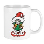 Naughty Elf Mugs