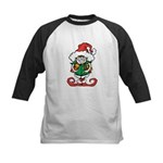 Naughty Elf Baseball Jersey