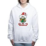 Naughty Elf Women's Hooded Sweatshirt