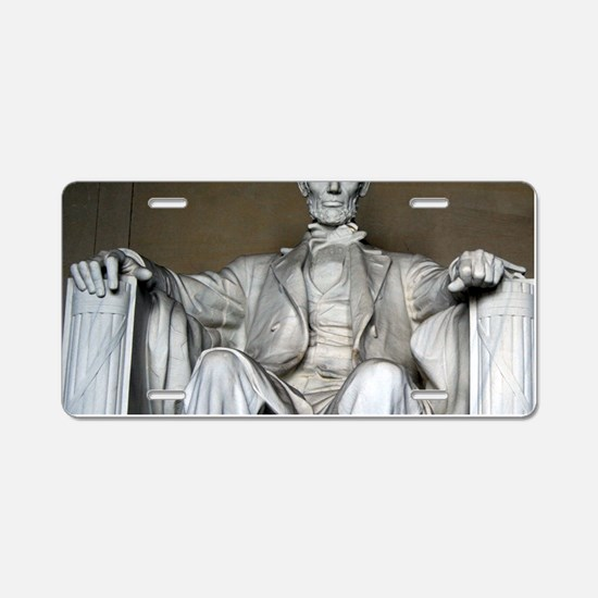 LINCOLN MEMORIAL Aluminum License Plate