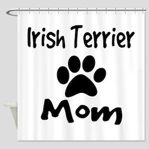 Irish Terrier Mom Shower Curtain